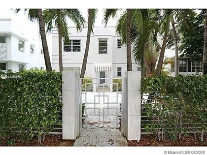 Residential Property for sale in No address available 4, Miami Beach, FL, 33139