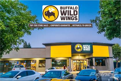 Commercial for sale in Buffalo Wild Wings 3331 West Shaw Avenue, Fresno, CA Cap Rate 5.5%, Fresno, CA, 93711