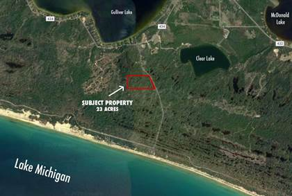 Lots And Land for sale in TBD South Lake Michigan Shores, Gulliver, MI, 49840