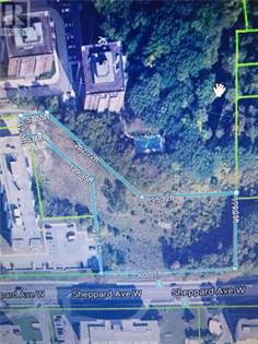 Vacant Land for sale in 500 SHEPPARD AVE W, Toronto, Ontario, M2N6H7