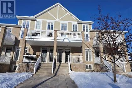 Single Family for sale in 96 STONEHAVEN DRIVE UNIT B, Ottawa, Ontario