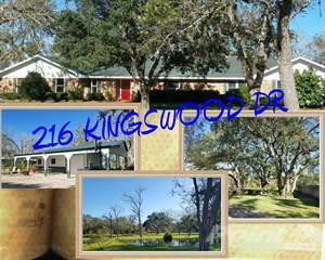Residential Property for sale in 216 KINGSWOOD DRIVE, Van Vleck, TX, 77482
