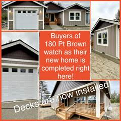Residential for sale in 180 Point Brown Ave SE, Ocean Shores, WA, 98569