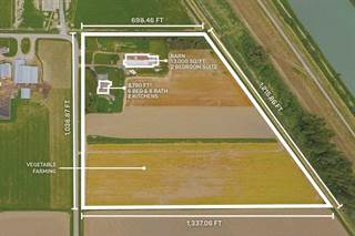 Farm And Agriculture for sale in 6230 TOLMIE ROAD, Abbotsford, British Columbia, V3G2V6