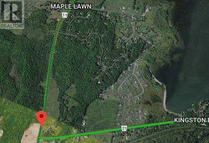 Vacant Land for sale in 1702 Battersea RD, Glenburnie, Ontario, K0H1S0