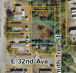 Land for sale in GRANT PARK ADDITION BLOCKS 36-45 LOTS 10 AND 11 BL, Tampa, FL, 33619