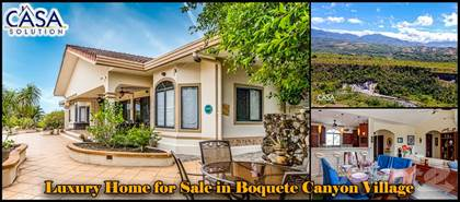 Residential Property for sale in Luxury Home with Outstanding View for Sale in Boquete Canyon Village, Boquete, Chiriquí