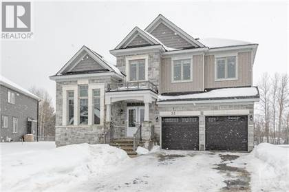 Single Family for sale in 33 SOPWITH PRIVATE, Ottawa, Ontario, K0A1L0
