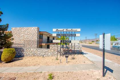 Residential Property for rent in 6400 EDGEMERE Boulevard 11, El Paso, TX, 79925