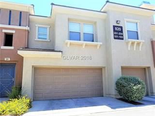 Townhouse for rent in 820 SUNRISE PEAK Lane 101, Las Vegas, NV, 89144