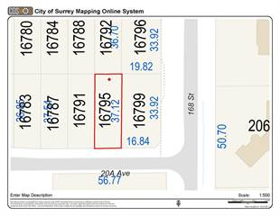 Land for sale in 16795 20A AVENUE, Surrey, British Columbia, V3S0B5