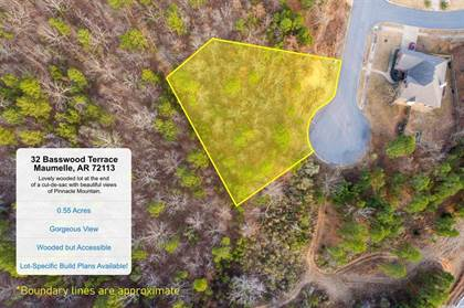 Lots And Land for sale in 32 Basswood Terrace, Maumelle, AR, 72113