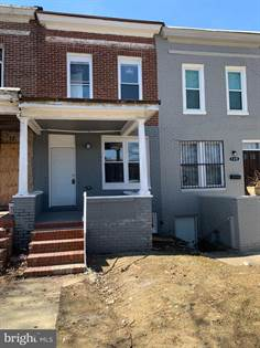 Residential Property for sale in 122 S HILTON ST, Baltimore City, MD, 21229