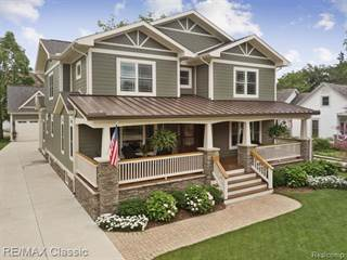 Single Family for sale in 149 S UNION Street, Plymouth, MI, 48170
