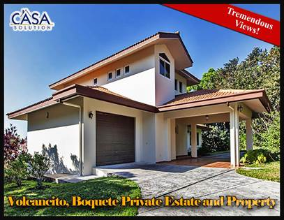 Residential Property for sale in House for Sale with Beautiful Grounds & Tremendous Views, Boquete, Chiriquí