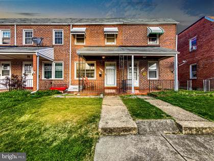 Residential Property for sale in 327 GUSRYAN ST, Baltimore City, MD, 21224