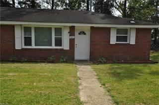 Duplex for rent in 2613 Elkhart Street, Chesapeake, VA, 23323