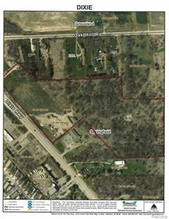 Lots And Land for sale in 6485 Dixie Hwy. DIXIE HWY, Springfield Township, MI, 48350