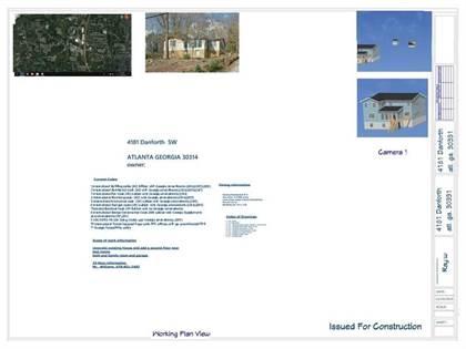 Residential Property for sale in 4181 Danforth Road SW, Atlanta, GA, 30331