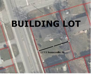 Lots And Land for sale in 1153 Somerville St, Oshawa, Ontario, L1G 4K5