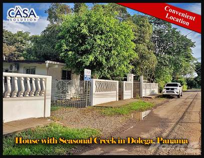 Residential Property for sale in Price Reduction! House with Seasonal Creek for Sale Near Boquete in Dolega, Dolega, Chiriquí