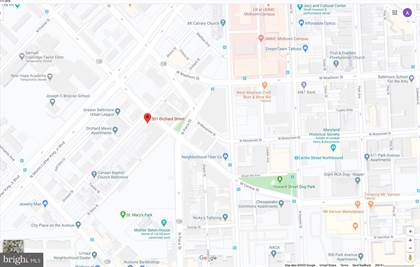 Lots And Land for sale in 501 ORCHARD STREET, Baltimore City, MD, 21201