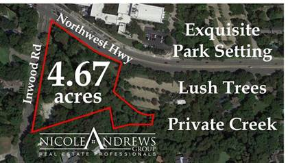 Lots And Land for sale in 9122 Inwood Road, Dallas, TX, 75209
