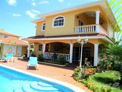 Residential Property for sale in Sosua 3-bedroom villa with ocean view in secure community, Sosua, Puerto Plata