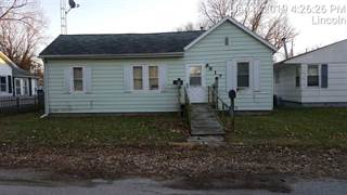 Single Family for sale in 817 Short 8th Street, Lincoln, IL, 62656