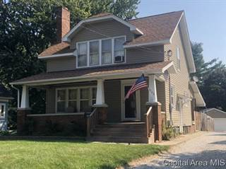 Single Family for sale in 900 S CLAY AVE, Jacksonville, IL, 62650