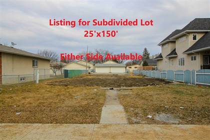 Vacant Land for sale in 12011 102 ST NW NW, Edmonton, Alberta, T5G2G6