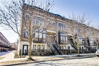 Townhouse for sale in 1705 West George Street, Chicago, IL, 60657