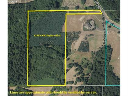 Lots And Land for sale in 12989 NW SKYLINE BLVD, Portland, OR, 97231