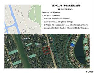Comm/Ind for sale in 5288 N Ocean Shore Blvd, Palm Coast, FL, 32137