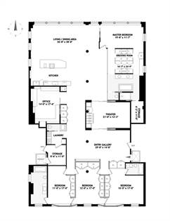 Residential Property for sale in 31 West 21st Street 7, Manhattan, NY, 10024