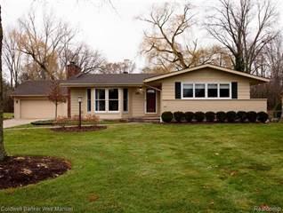 Single Family for sale in 190 MCKINLEY Drive, Troy, MI, 48098