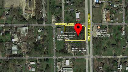 Lots And Land for sale in 0 Norments Drive, Houston, TX, 77039