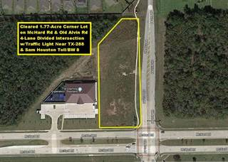 Other Real Estate for sale in 0 McHard Rd and Old Alvin Road, Pearland, TX, 77581