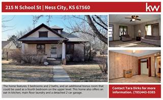 Single Family for sale in 215 North School Street, Ness City, KS, 67560
