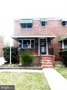 Residential for sale in 3718 HOWARD PARK AVE, Baltimore City, MD, 21207