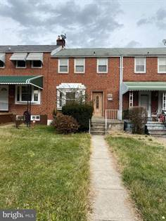Residential Property for rent in 1908 E BELVEDERE AVE, Baltimore City, MD, 21239