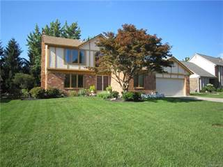 Single Family for rent in 2792 BROADMOOR Drive, Rochester Hills, MI, 48309