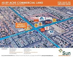 Land for sale in 2945 South Nellis Boulevard, Las Vegas, NV, 89121