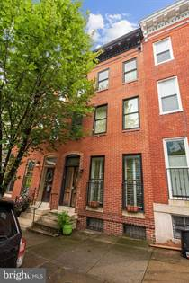 Residential Property for sale in 1713 W LOMBARD STREET, Baltimore City, MD, 21223