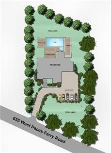 Lots And Land for sale in 655 W Paces Ferry Road NW, Atlanta, GA, 30327