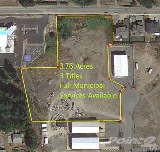 Commercial for sale in Lt 23, 24&25 Scott Rd, Duncan, British Columbia, V9L 6Y8