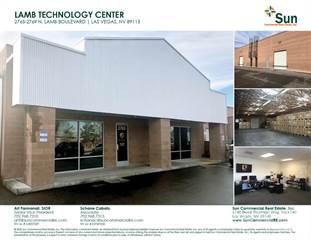 Industrial for sale in 2765 North Lamb Boulevard, Las Vegas, NV, 89115