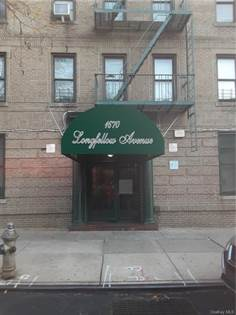 Residential Property for sale in 1670 NE Longfellow Avenue 4A, Bronx, NY, 10460