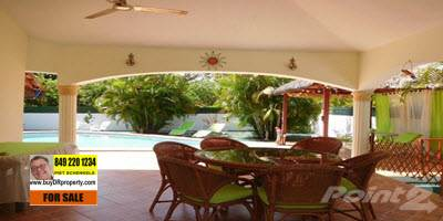 Residential Property for sale in WELL MAINTAINED TWO BEDROOM VILLA ON NICE SIZED LOT AND OUTSIDE KITCHEN IN SOSUA, Sosua, Puerto Plata