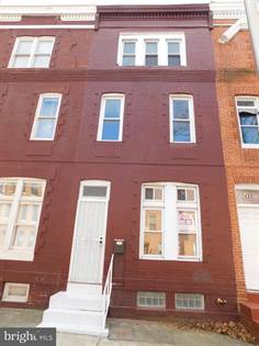 Residential Property for sale in 437 E LANVALE STREET, Baltimore City, MD, 21202